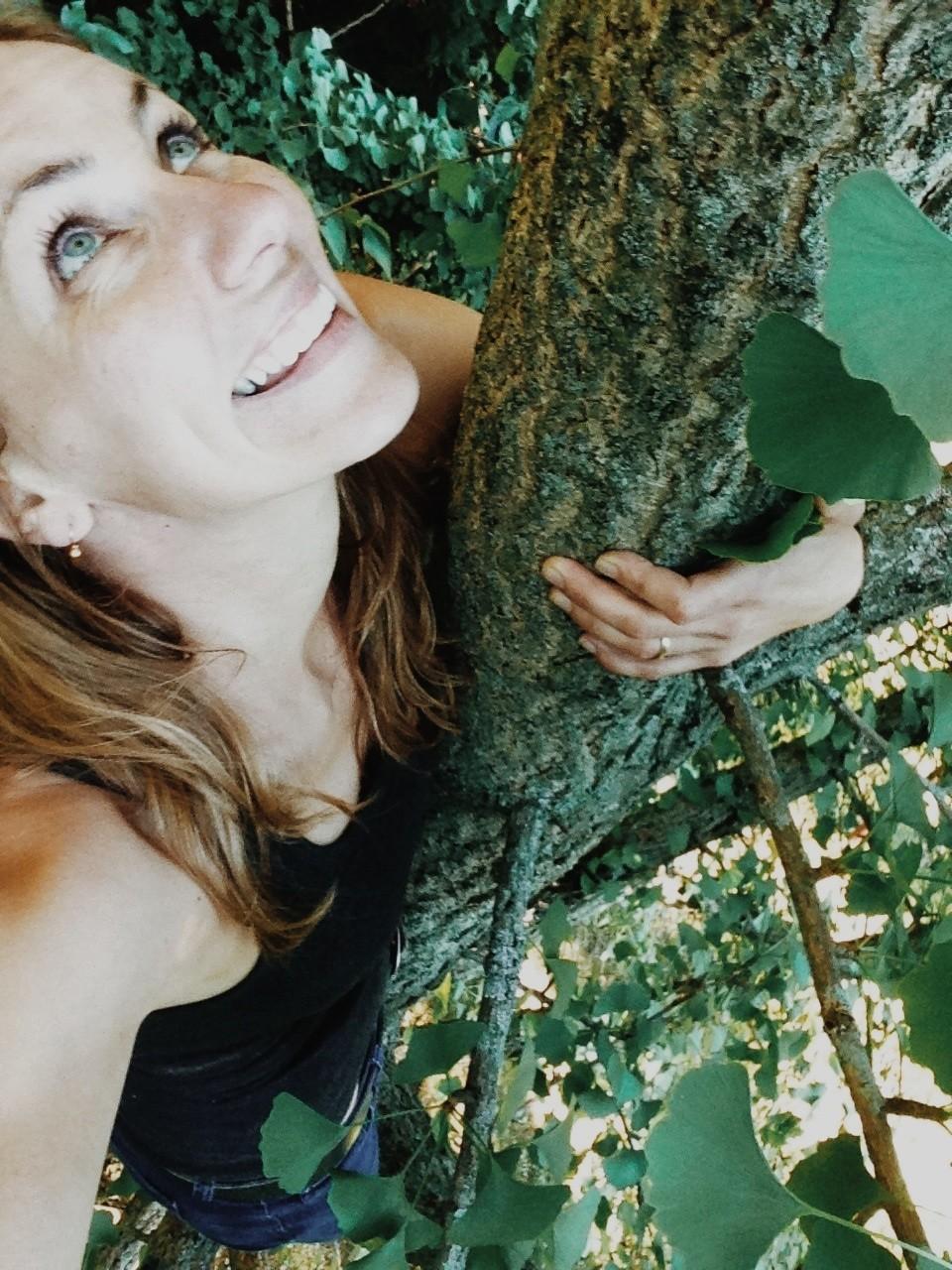 Selfie--Tree Climbing