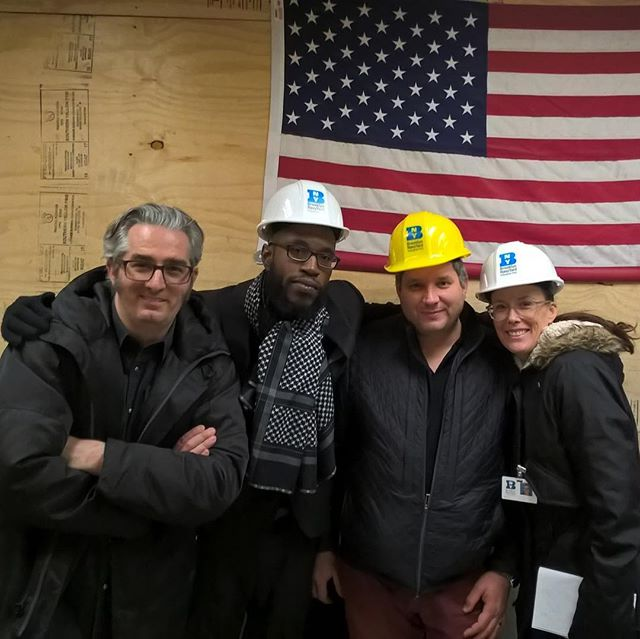 REPOST From the Founder: America the Beautiful.  A place where we can dream, and build, and succeed.  Grateful for amazing people, especially John Biggs, thank you. Meeting @brepettis and working with the Navy Yard is an incredible opportunity 🙏🏾🇺🇸🌎 This is a Throwback post to an amazing day.  #Brooklyn #NewYork #startup #nanotechnology #advancedmaterials #3dprinting #instagood #generosity #gratitude #blessed