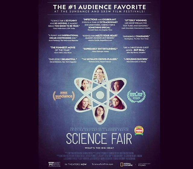We are excited about the @ScienceFairFilm!  Our Founder @thePsyence was not only a participant in 2000 at the @Intel ISEF (in Detroit), but later he was a Special Awards Judge at the 2017 ISEF (in LA, featured in the film)! -  We encourage you to support this film and your local young scientists! From research like this comes innovation and the birth of companies like @TMMnano 🙏🏾🔬⚛️🔬🙏🏾 #ScienceFair #Movie #Intel #ISEF2017 #STEM #science #documentary #NatGeo #Instagood #instagram #instatech #community #IntelISEF #IntelISEF2000 #thankyou #judge #competitor #awards #honor #materialscience #chemistry #engineering #grateful #icon #innovators