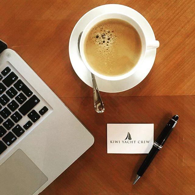 Land Based Life ✌🏽#yachtlife #superyacht #yachtrecruitment #kiwiyachtcrew #yachties #coffee #werk #landlife #yachtcrew