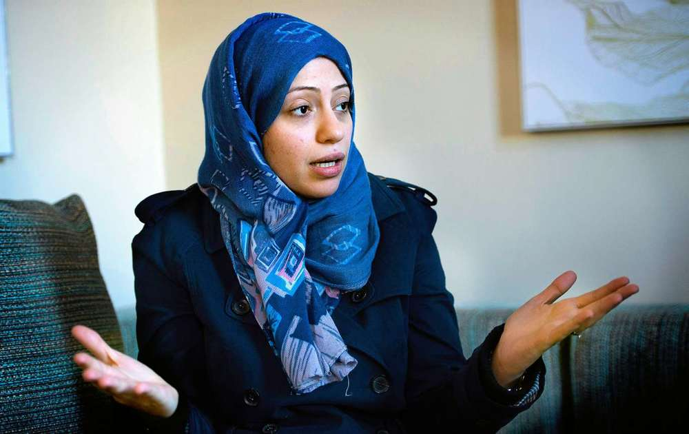 Saudi-Arabian Human Rights Defender and International Women of Courage Award Winner 2012,  Samar Badawi . Women in Saudi Arabia were allowed to vote in the municipal elections for the first time in 2015, thanks to efforts of women rights defenders like her, who speak out towards injustices based on gender.