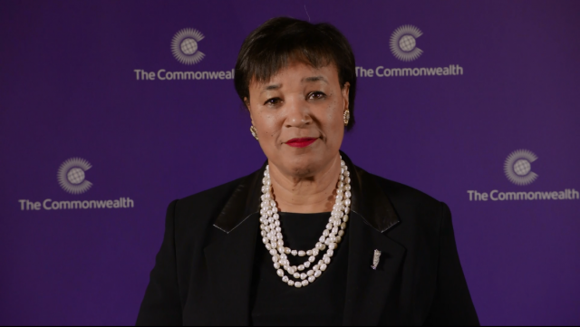 The Rt Hon Patricia Scotland QC is the sixth Commonwealth Secretary-General