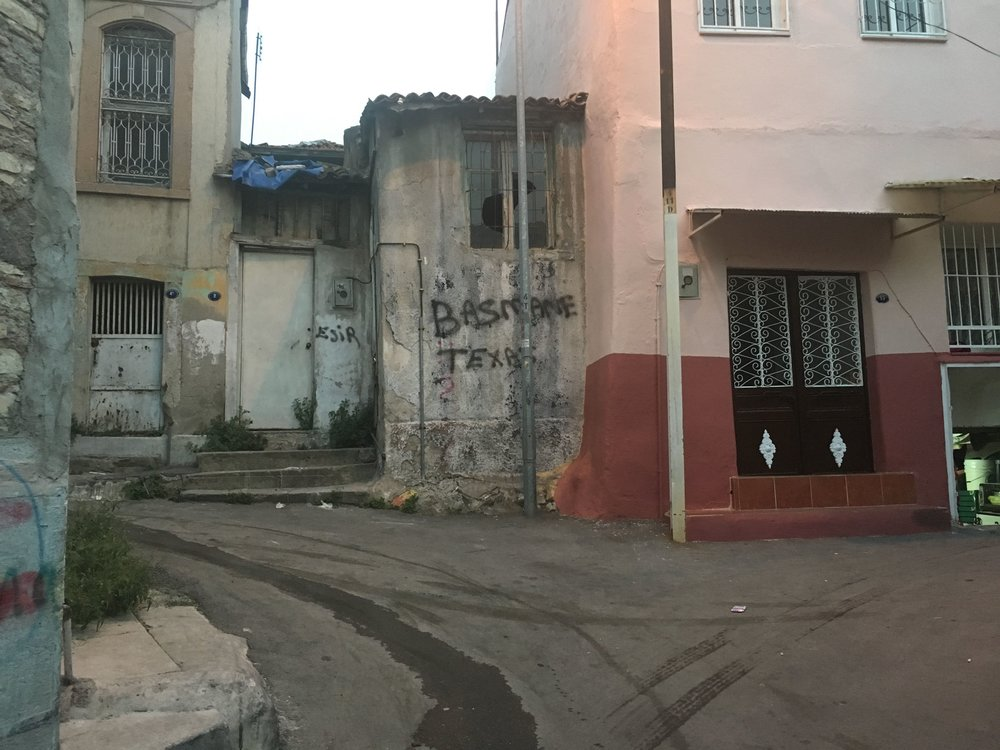 Basmane - ein syrisch geprägter Stadtteil in Izmir, in dem ReVi und viele andere wichtige Arbeit machen.