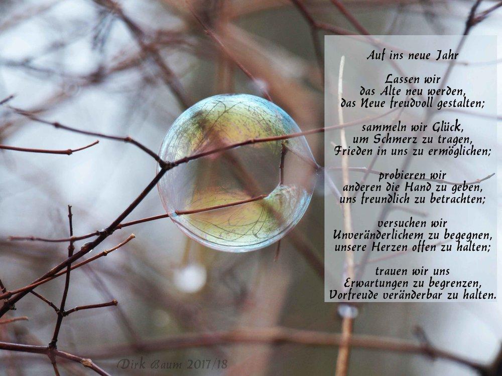 Neues Jahr, Gedicht