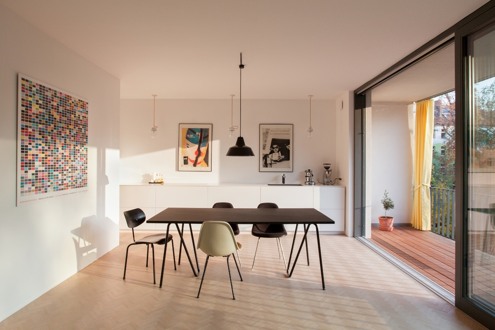 Wrangelstr. 11 W03 Küche und Essbereich
