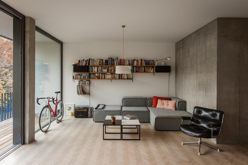Wrangelstr. 11 W03 Wohnbereich Lounge