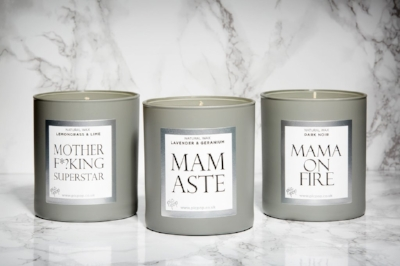 Pickup Mamamantra candles £35