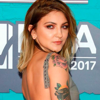 Julia Michaels MTV EMAs London 2017