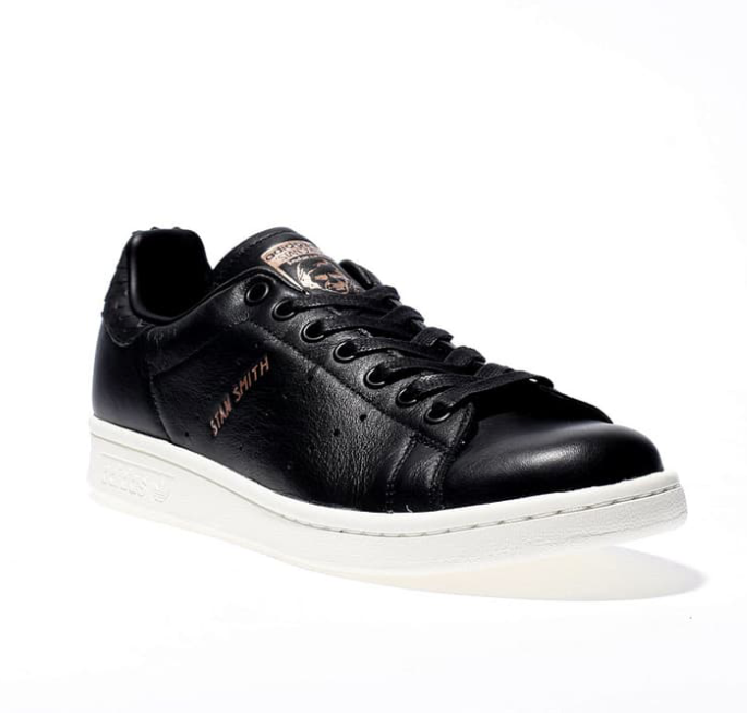 Black & Gold Stan Smith Trainers- £100