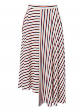 Studio by Preen Multi Stripe Asymmetric Skirt- £27.50