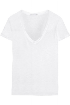 James Perse Casual Slub Cotton T-Shirt- £75
