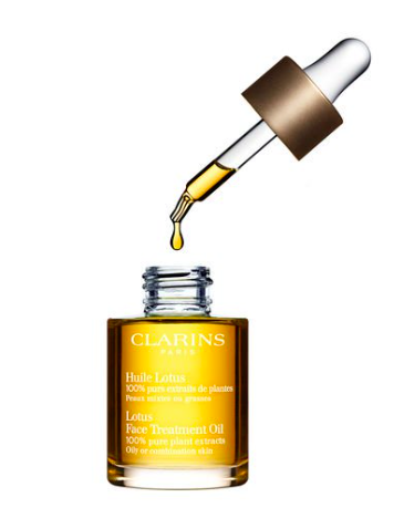 "Clarins Lotus Face Treatment Oil ""Oily/Combination Skin"" 30 ml £34"