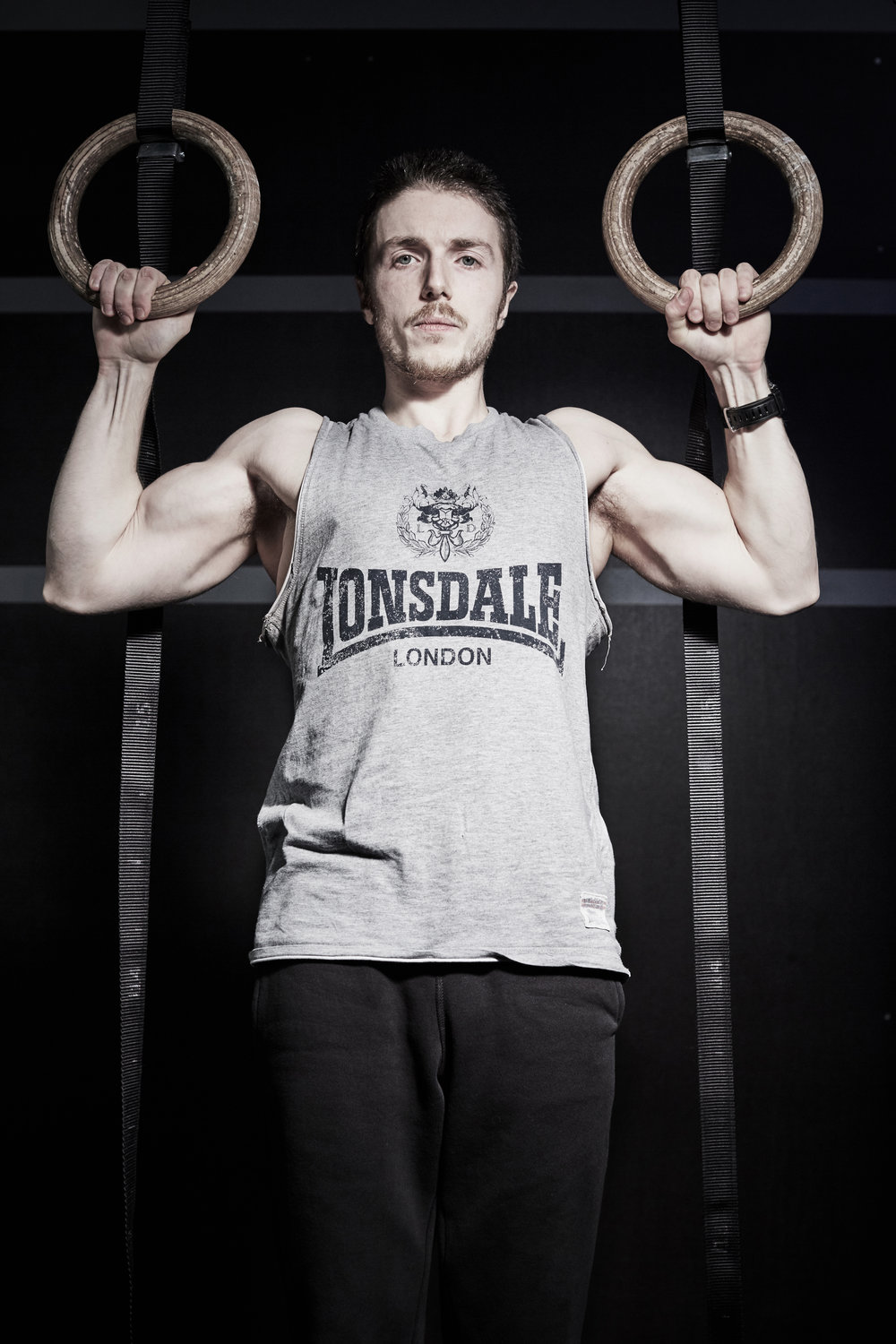 Sports & Fitness Commercial Portraits Gym Box Personal Trainer Ropes