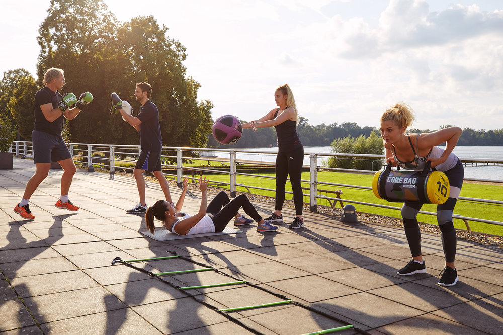 Sports & Fitness Wellbeing Photographer Aspria Germany Outdoor Exercise