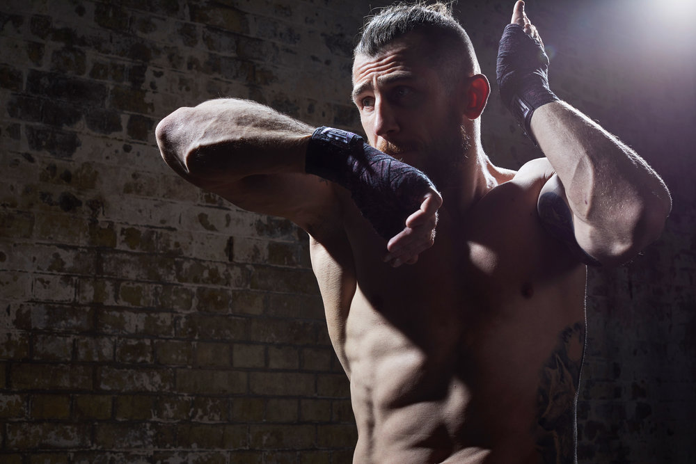 Sports & Fitness Commercial Portraits Fighting Russian Photoshoot