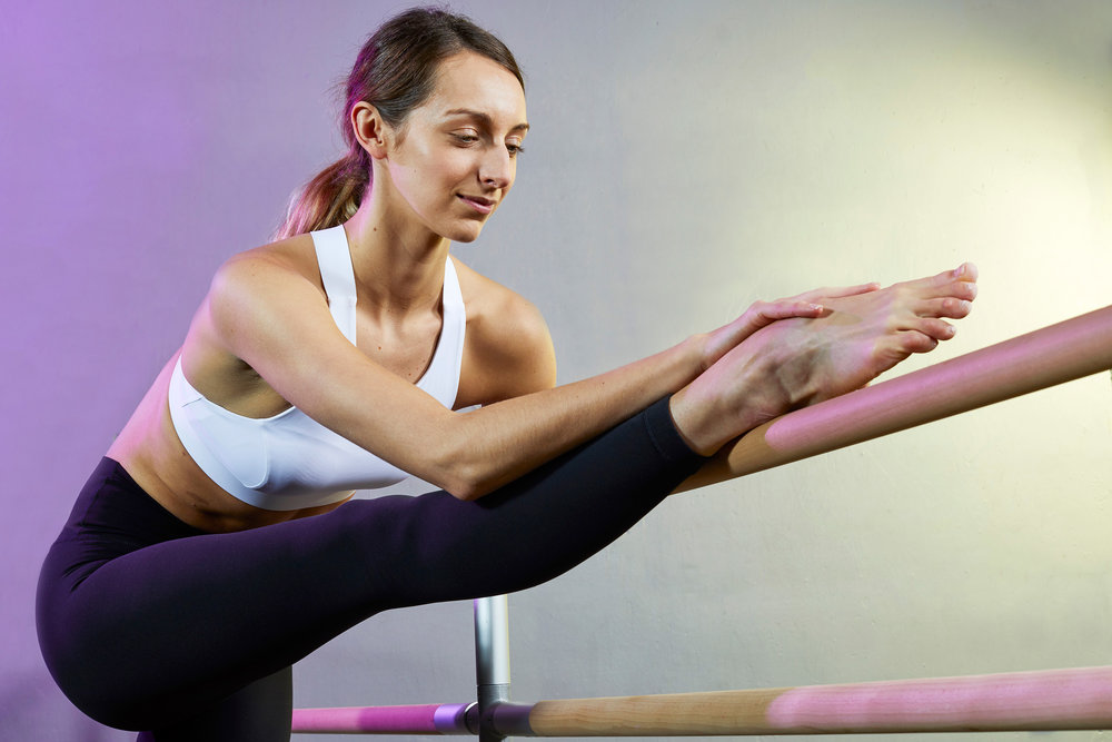 Sports & Fitness Commercial Dynamic Ballet Stretch