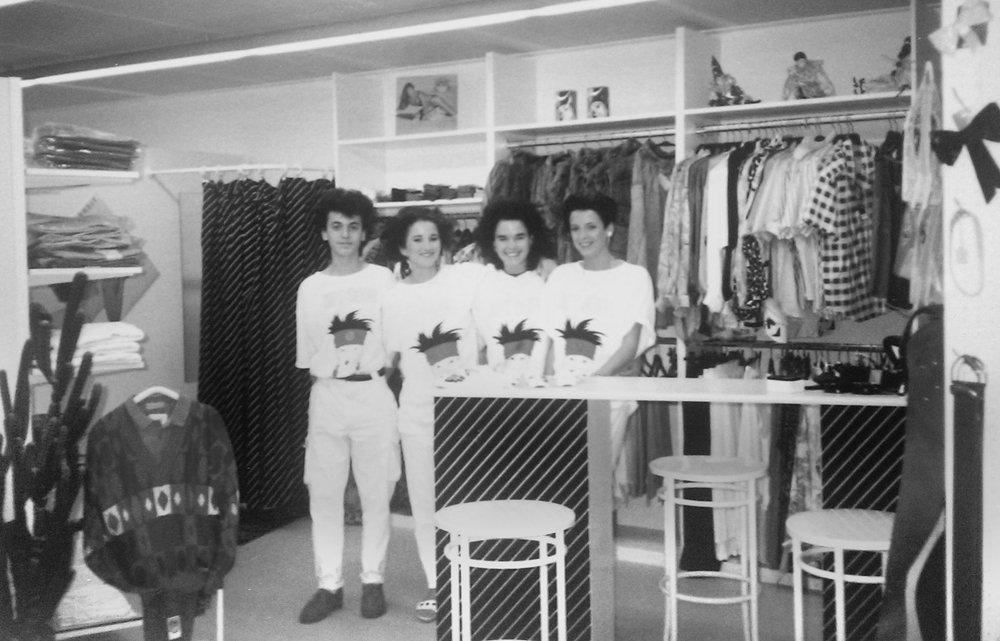 Eröffnung in Niederurnen 1987
