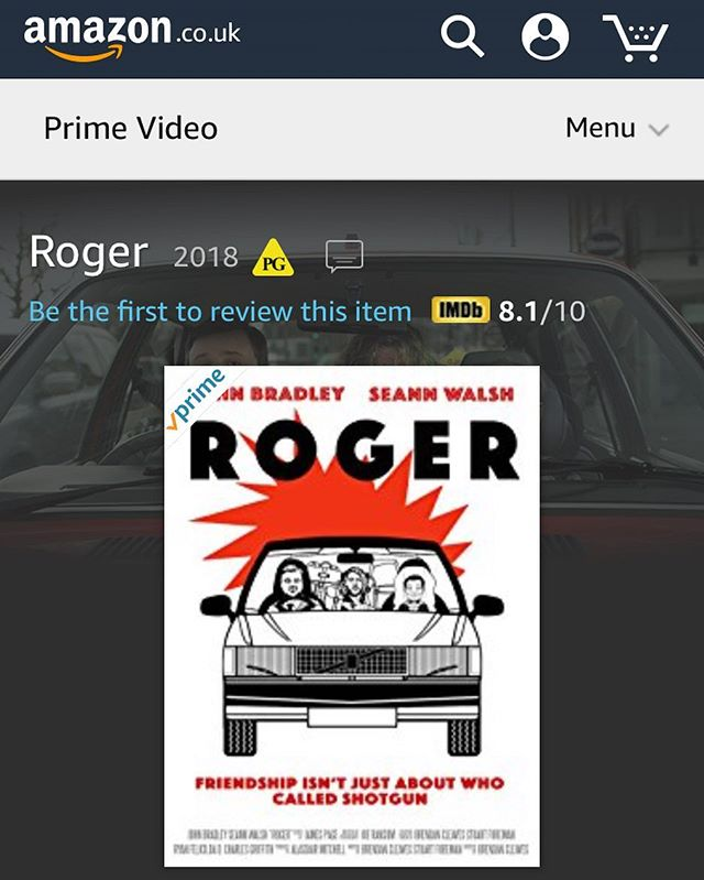 You can now watch Roger on amazon prime! @amazonstudios @amazon