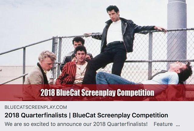 Holy cow!! The Roger feature film script made it to the semifinals of the @bluecatwriters screenplay competition! #screenwriting