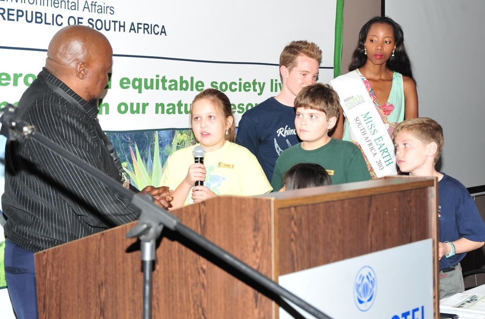 Handing over 10,000 letters to the south african government