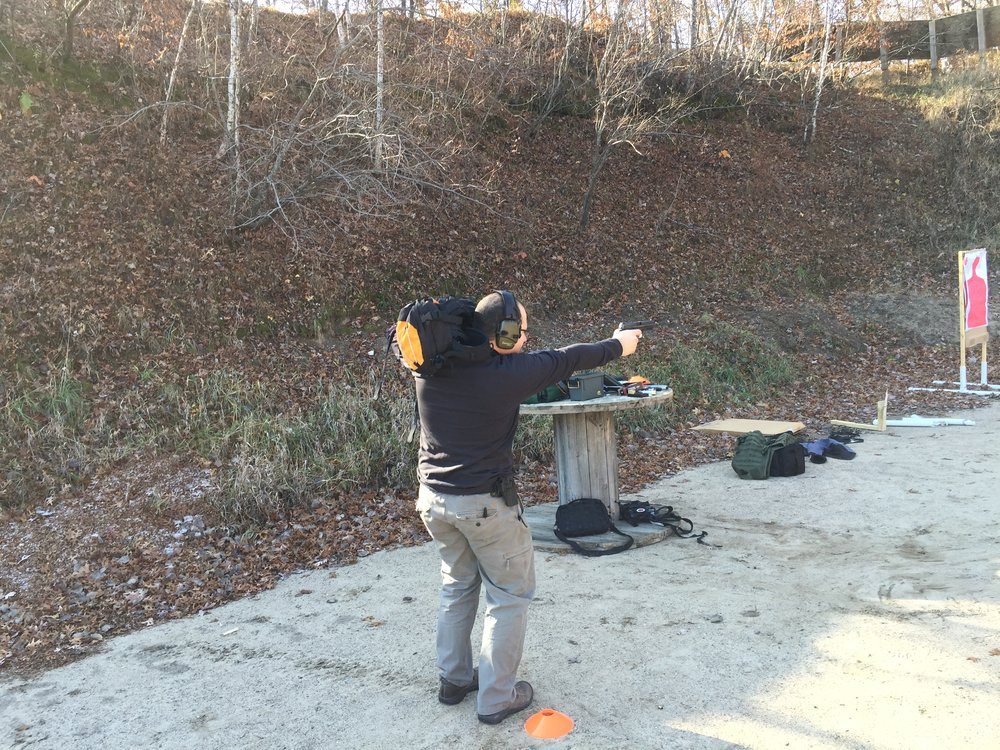 Handgun 201 - Learn to shoot like your life depends on it