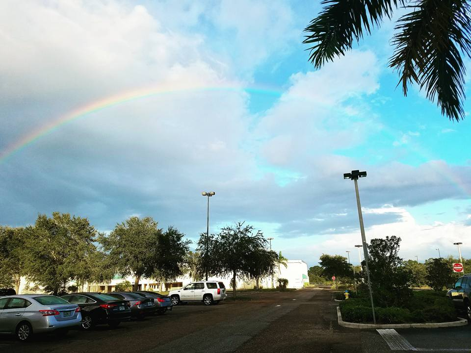 A beautiful rainbow that occurred after the in5d Psychic Conference