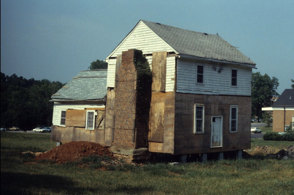 Dickson House After Move