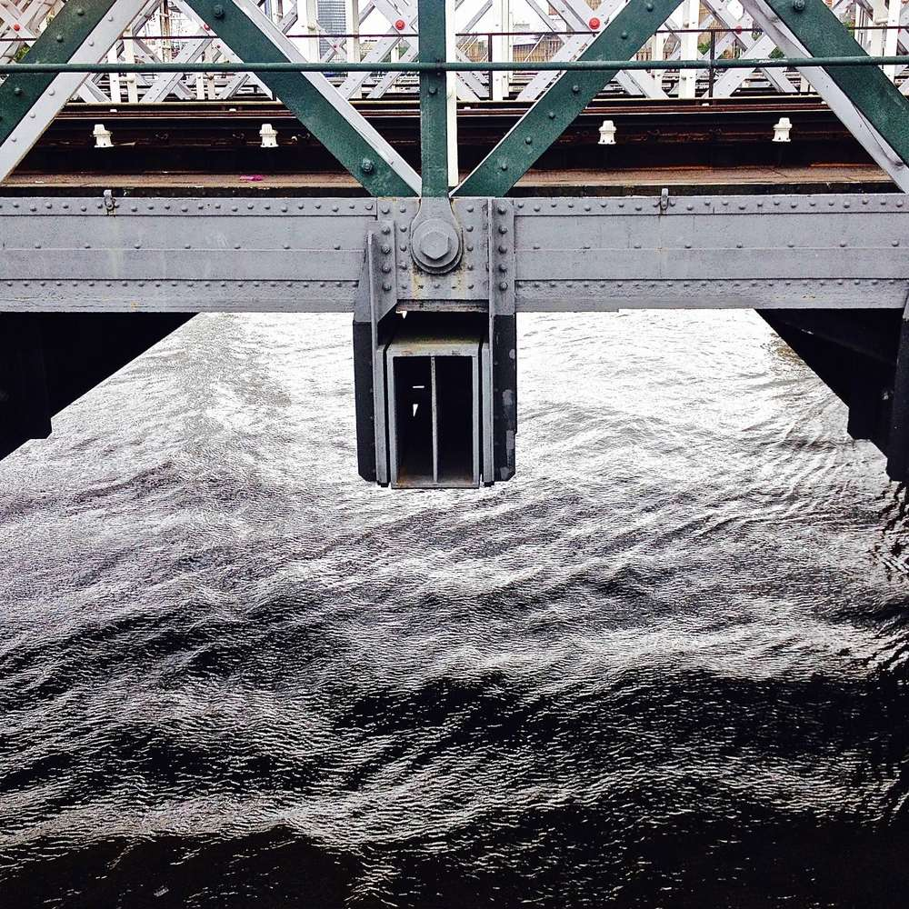 Detail of Hungerford bridge