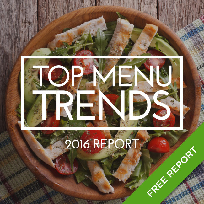 Top Menu Trends 2015