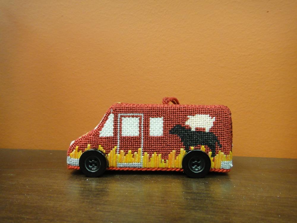 E2V BBQ Truck