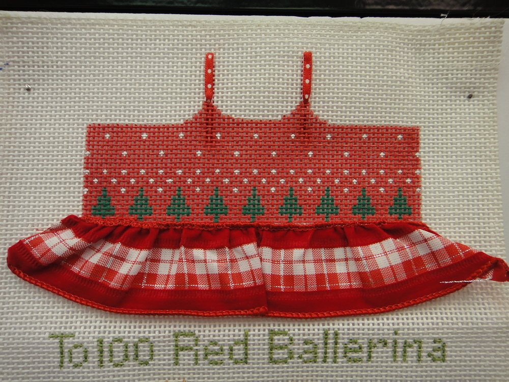 To100 Red Ballerina