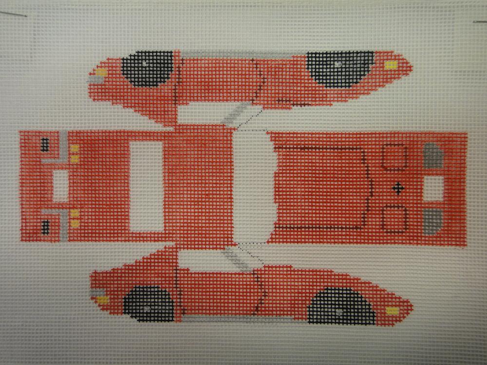 E2M Red Corvette