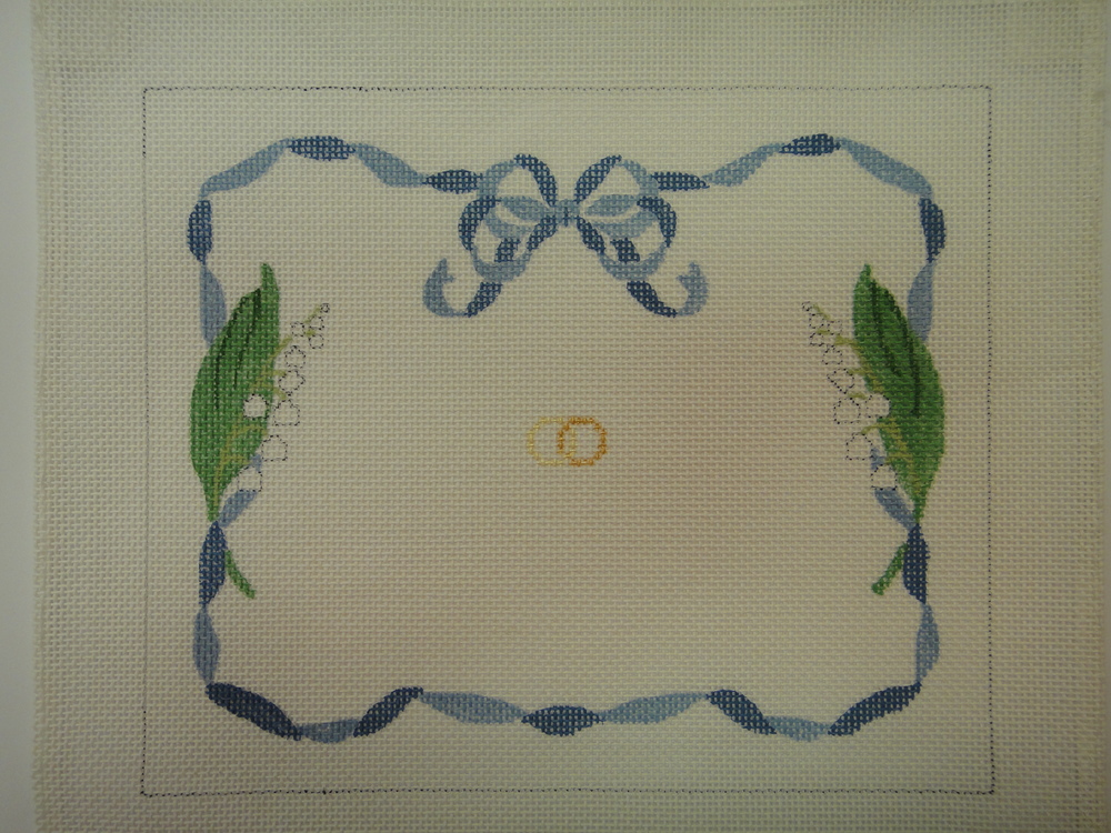 S10 Wedding Ring Sampler, 13 or 18 mesh (8x6)