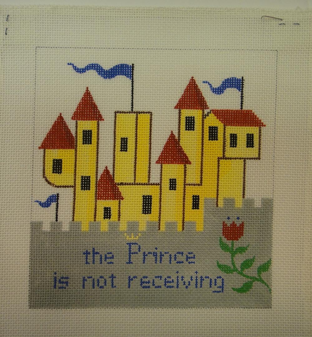 S23A Castl Door Hanging, Prince, 18 mesh (6x6)