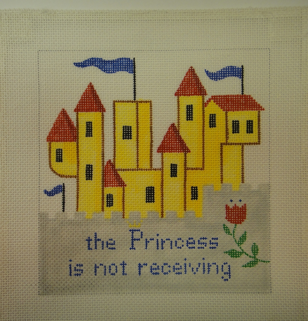 S23B Castle Door Hanging, Princess, 18 mesh (6x6)