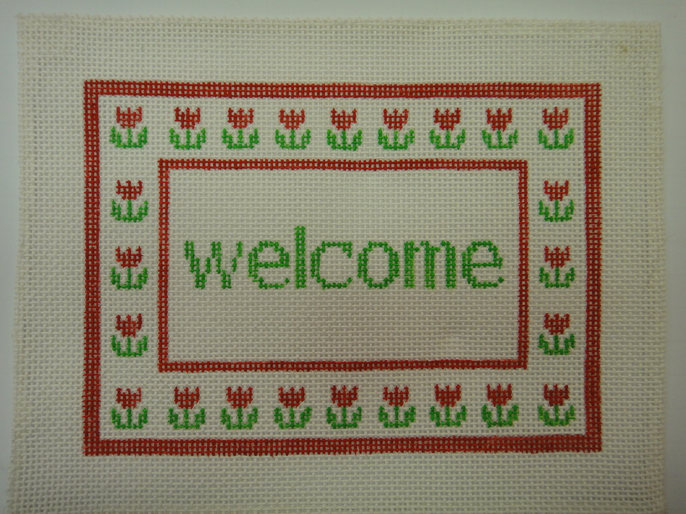 S29 Welcome Tulips (7.5x5.5)