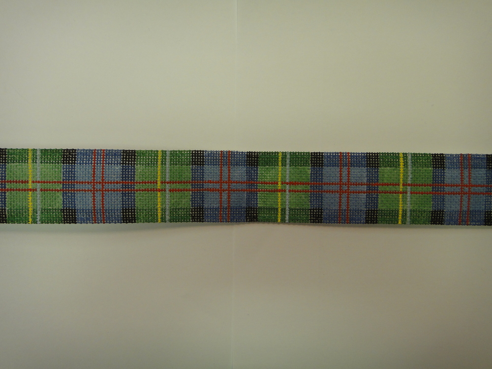 B15 Blue/Green Plaid