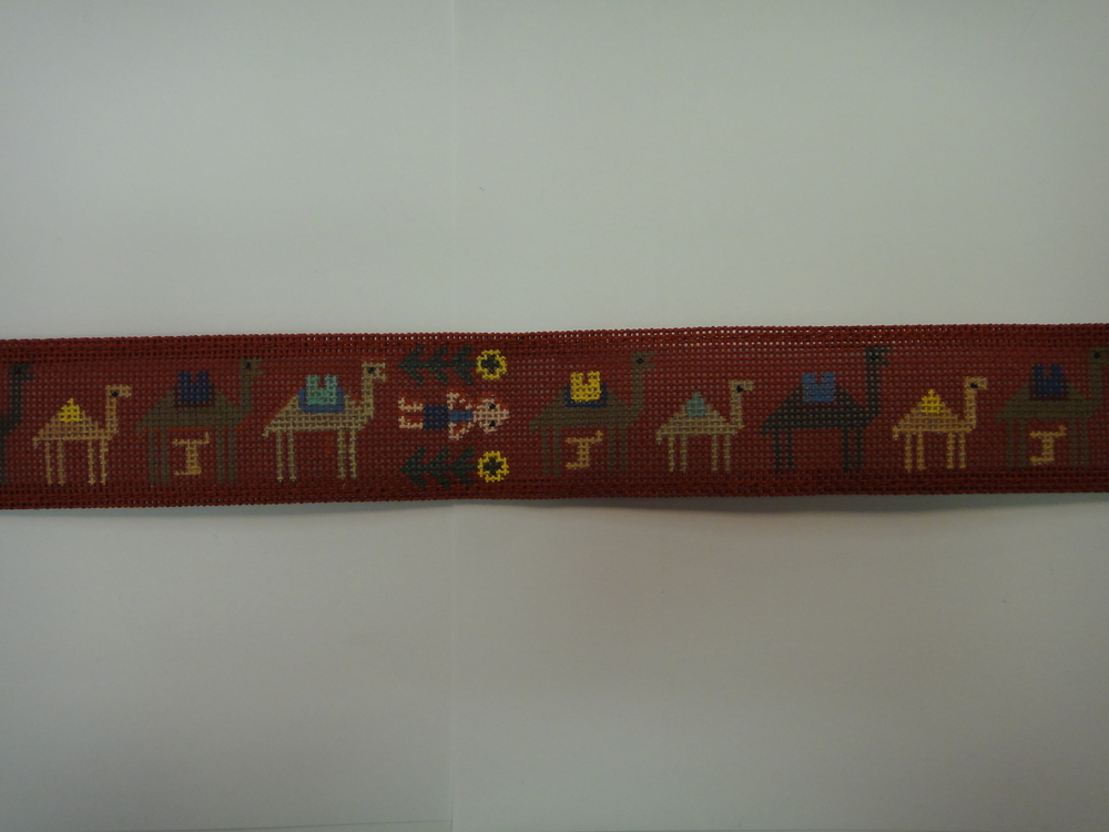 B37 Camel Train, red canvas