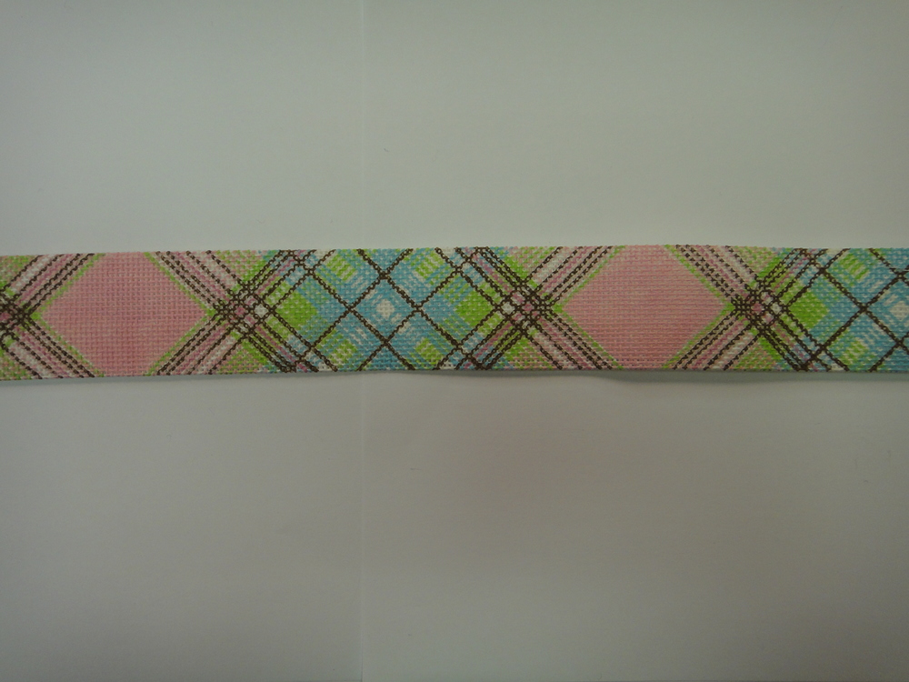 B51 Diagonal Plaid - pink