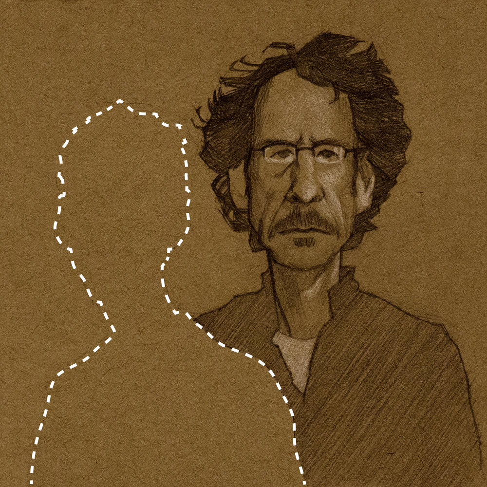Joel Coen illustration by the incomparable Hugo Marmugi