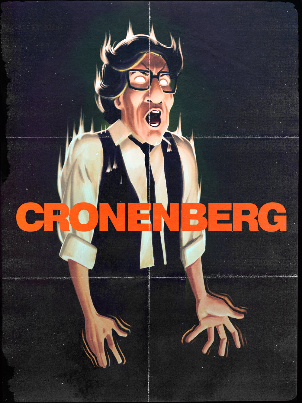 Cronenberg portrait by the always awesome Hugo Marmugi