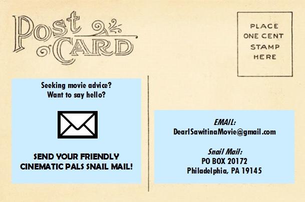 Need movie advice?     Drop us a line at:  DearISawitinaMovie@gmail.com