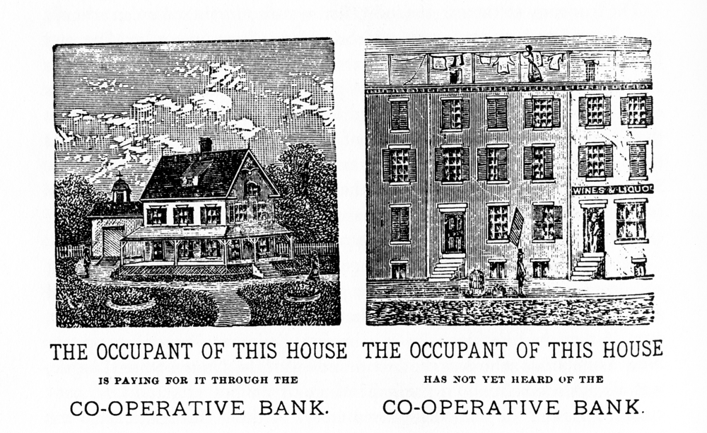 "Robert Treat Paine's ad for affordable housing, ""Own Your Own Home,"" 1881"