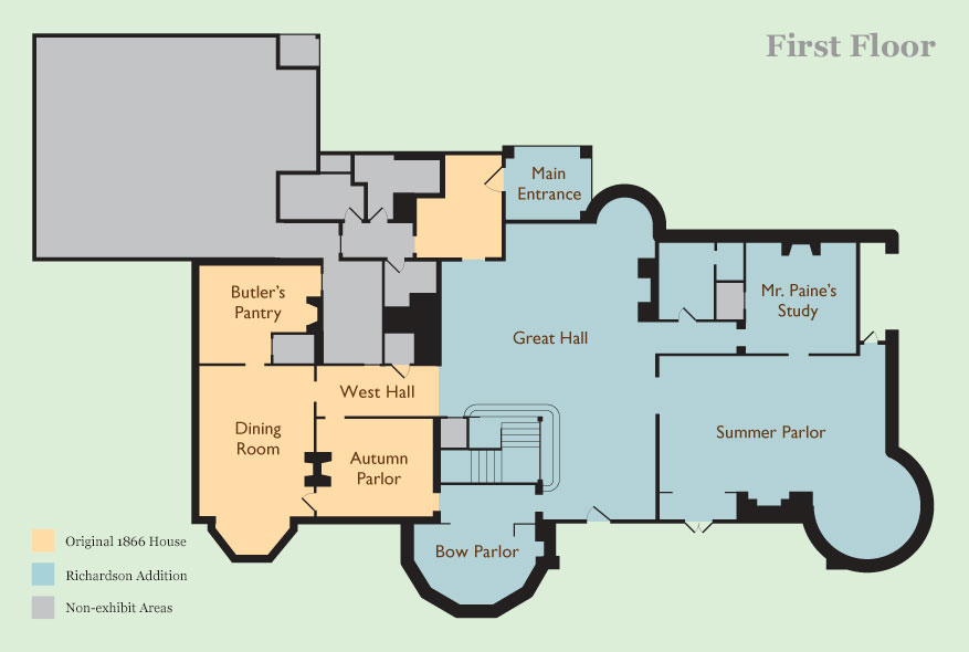 Stonehurst First Floor Plan