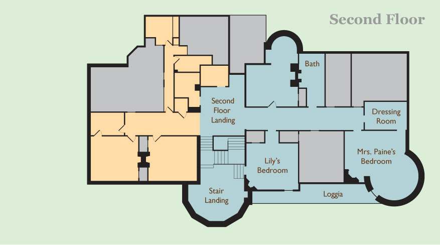 Stonehurst Second Floor Plan