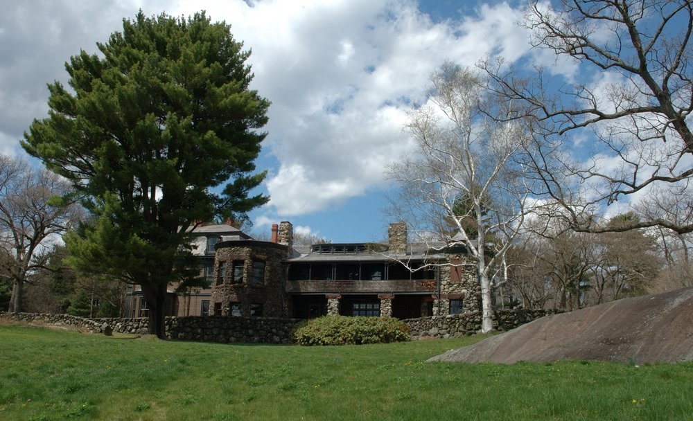 Stonehurst, the Robert Treat Paine Estate by H.H. Richardson and F.L. Olmsted