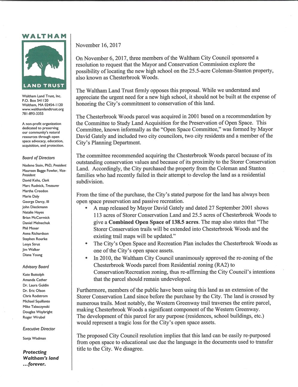 WLT letter on Chesterbrook Woods.jpg