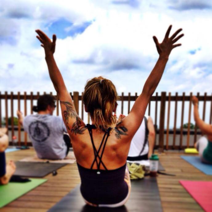 Rooftop Yoga FKMB