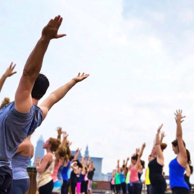Rooftop Yoga Hingetown