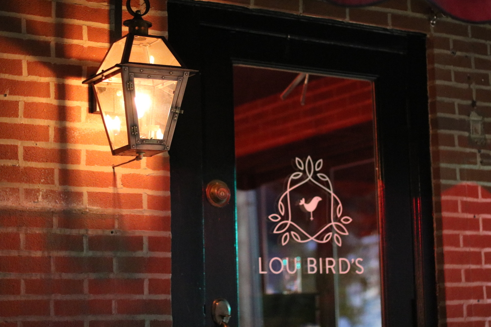 Lou Bird's is on the Southwest corner of 20th & Lombard Streets.